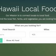 hawaii local food