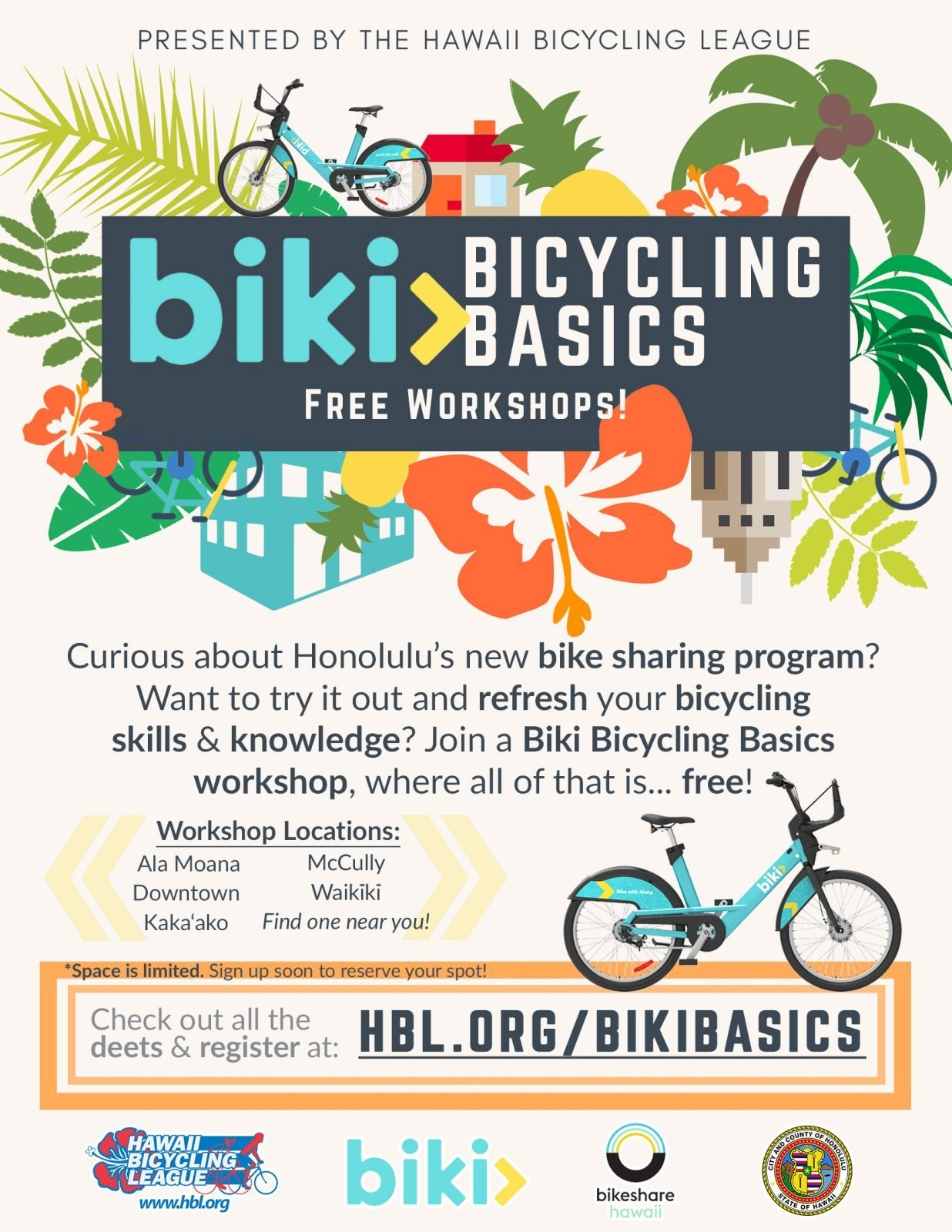 280f59472c Biki Bicycling Basics (Downtown Edition) – Hawai i Public Health Institute