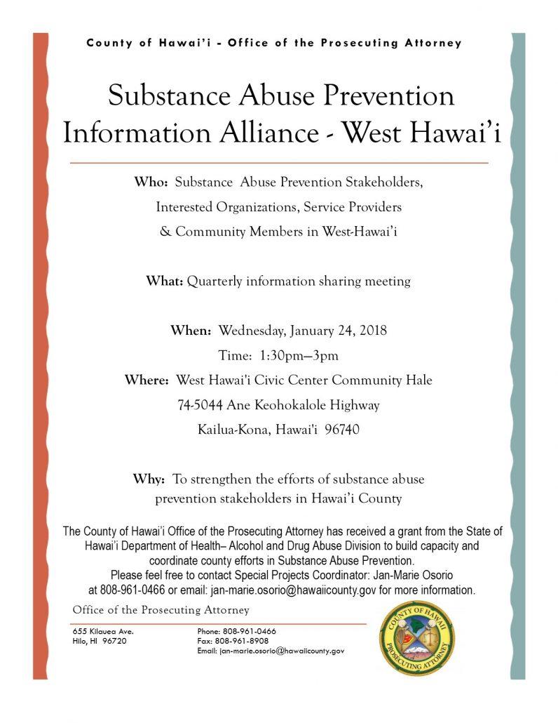 Big Island Substance Abuse Council Kona