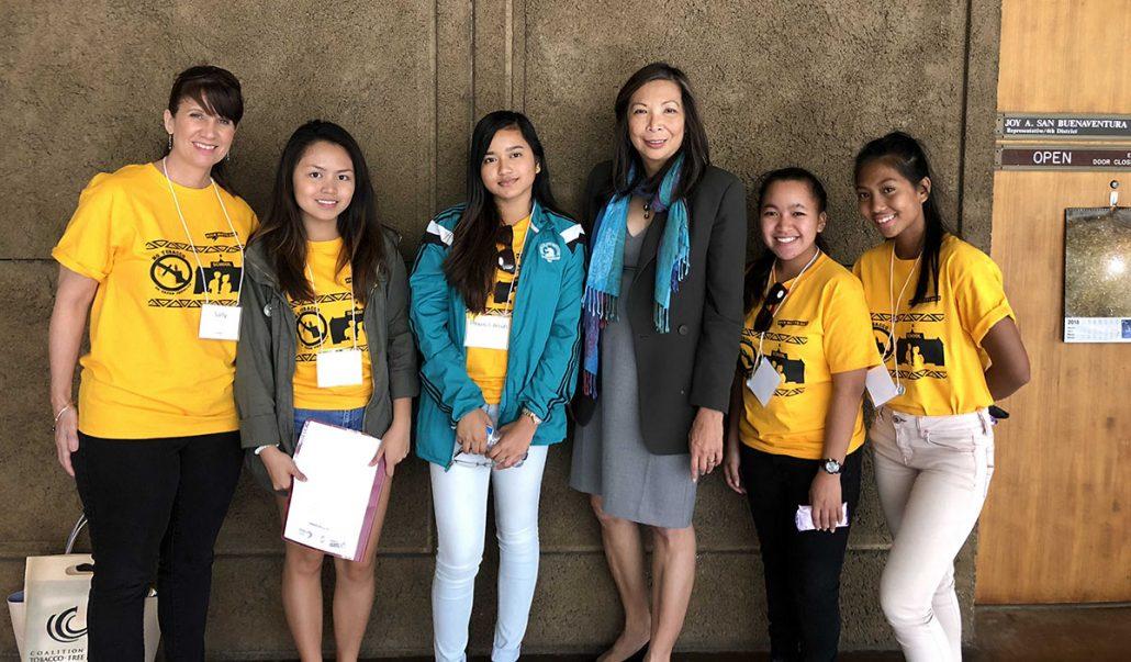 Rep San Buenaventura meets youth advocates