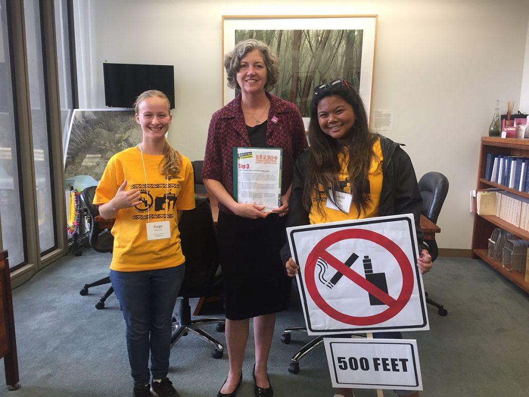 Youth Advocates with Senator Thielen