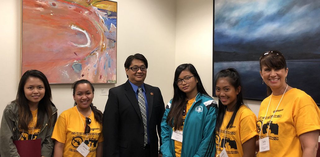 Hard questions but good discussion with Rep Nakashima!