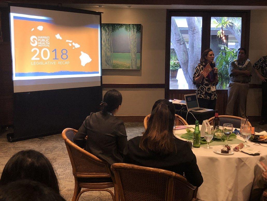 Jessica unveils the 2018 Legislative Recap
