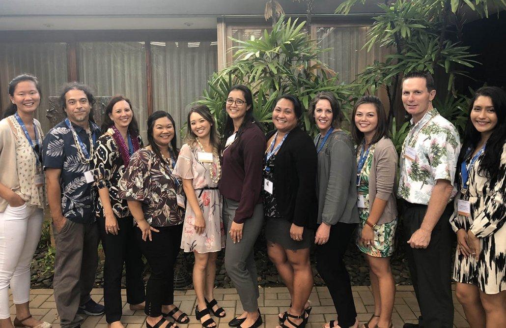 HIPHI Staff at Summer Social