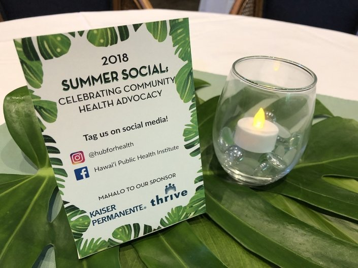 Summer Social Welcome