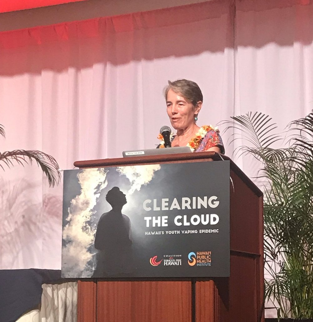 """Former director of the Department of Health, Dr. Virginia """"Ginny"""" Pressler receives our Lifetime Achievement Award."""