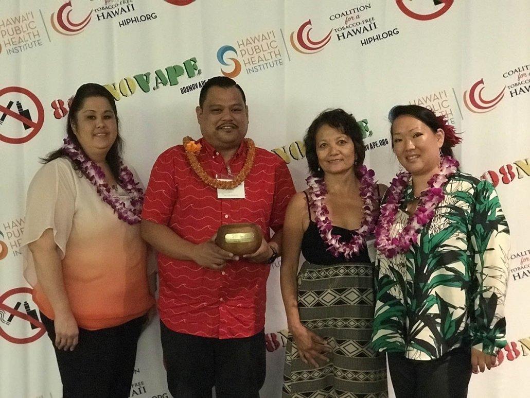 Hale Opio Kauai receives Outstanding Community Partner Award