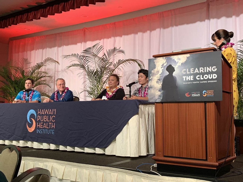 Ground Zero: Youth Vaping in Schools panel discussion