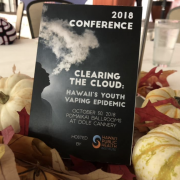 HIPHI hosts Hawaii's first-ever anti-vaping conference.