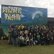 Breathe Aloha unveiling at Kapaa High School