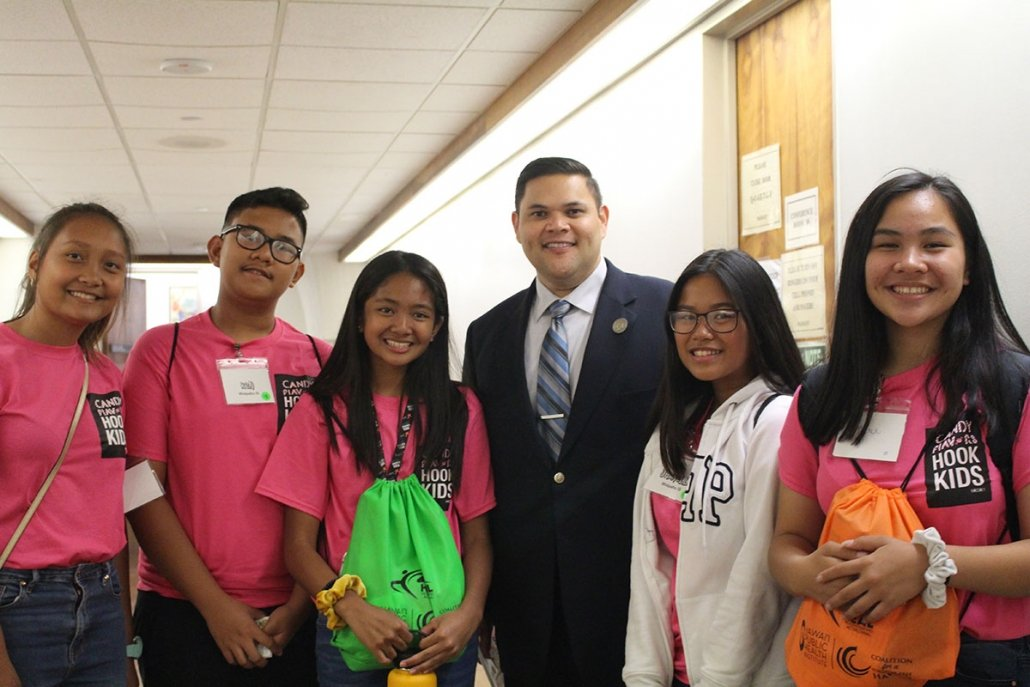 Youth advocates meet with Rep. Cullen