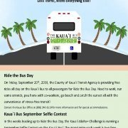 Ride the Bus Day on Kauai
